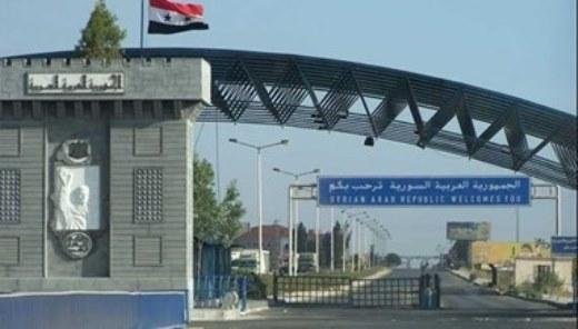 مسؤول سوري كان من المتوقع أن يساعد معبر نصيب في تحسن الليرة