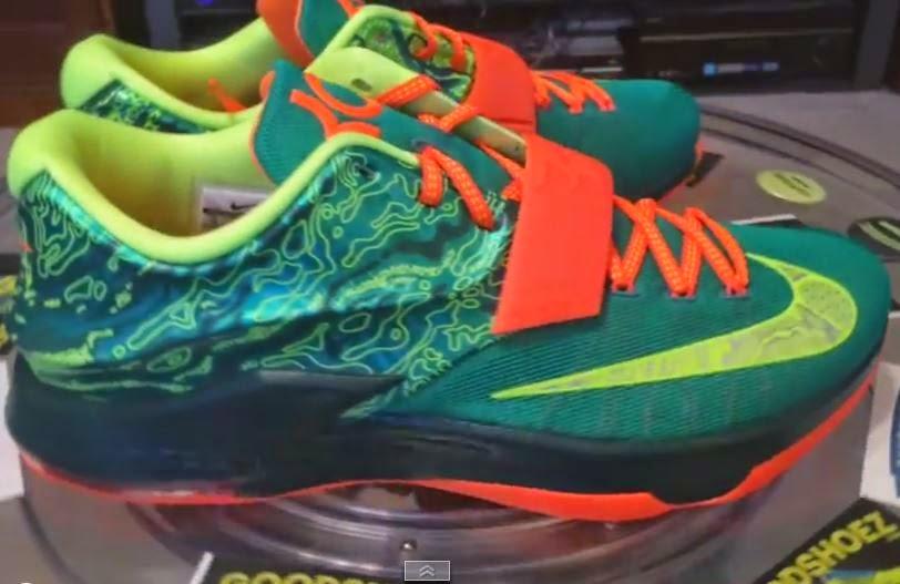 brand new 755c2 b95d5 THE SNEAKER ADDICT: Nike KD 7 Weatherman Sneaker (Detailed ...