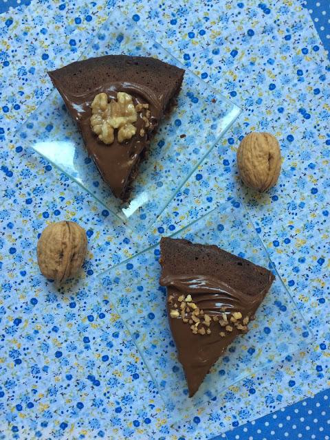 brownie chocolate en sartén receta