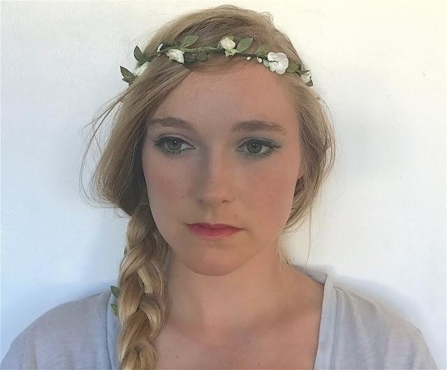 idée maquillage vert pistache
