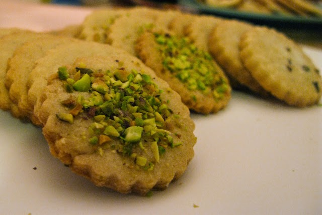 Pistachio Shortbread Recipe