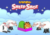 See how many sheep #Garfield can hit in his sleep! #GarfieldGames #Peanuts