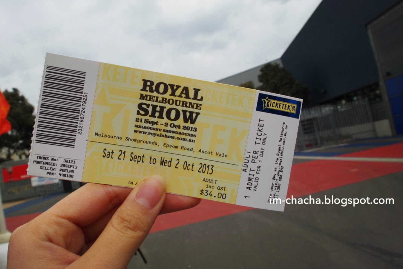 royal melbourne show tickets - photo #1