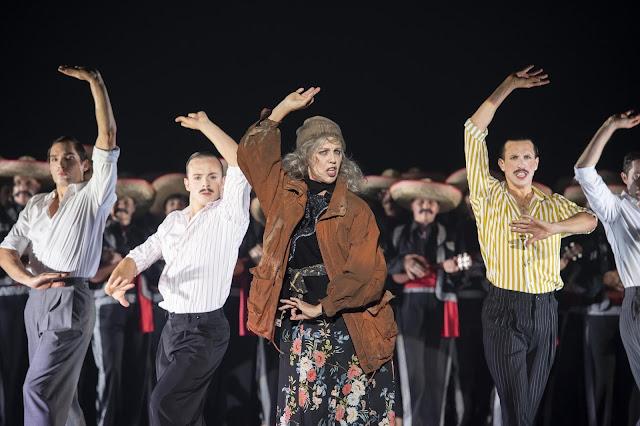 Bernstein: Candide - Anne Sofie von Otter - Komische Oper, Berlin (Photo Monika Ritttershaus)