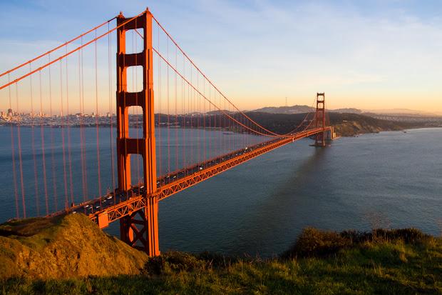 World Wondering Golden Gate Bridge