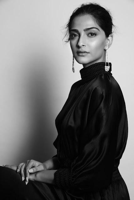 Sonaam Kapoor for Harpers Bazaar India