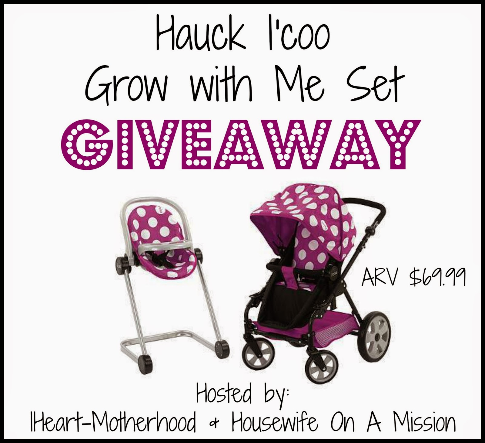 Hauck I'coo Grow with Me Set Giveaway