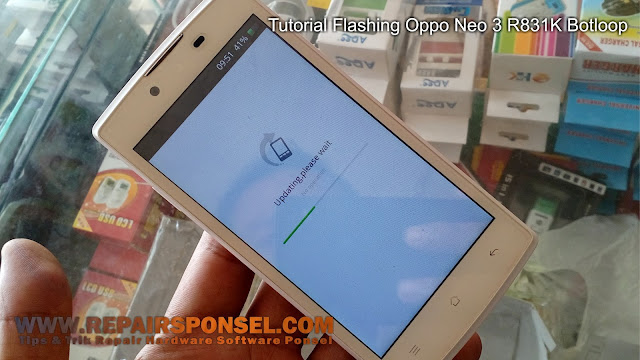 Tutorial Flash Oppo Neo 3 R831K via Recovery Mode