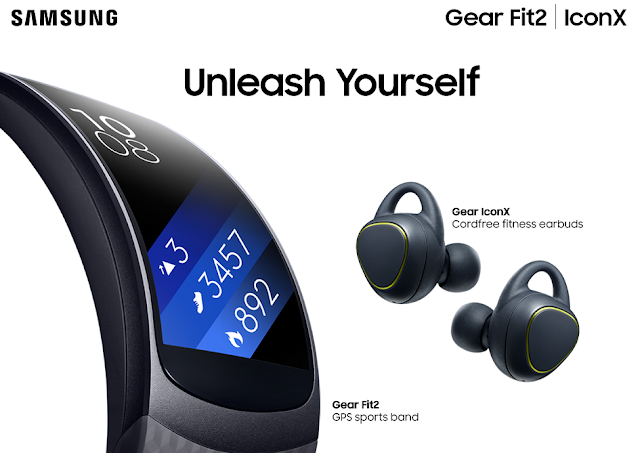 Unleash Yourself with the new Samsung Gear Fit2 and Gear IconX | Benteuno.com