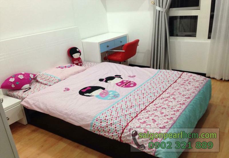 bán căn hộ saigon pearl ruby giường ngủ