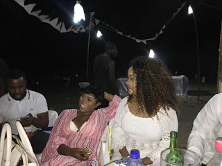 Actress Yvonne Nelson Gets Surprise Birthday Party From Friends [PHOTOS]