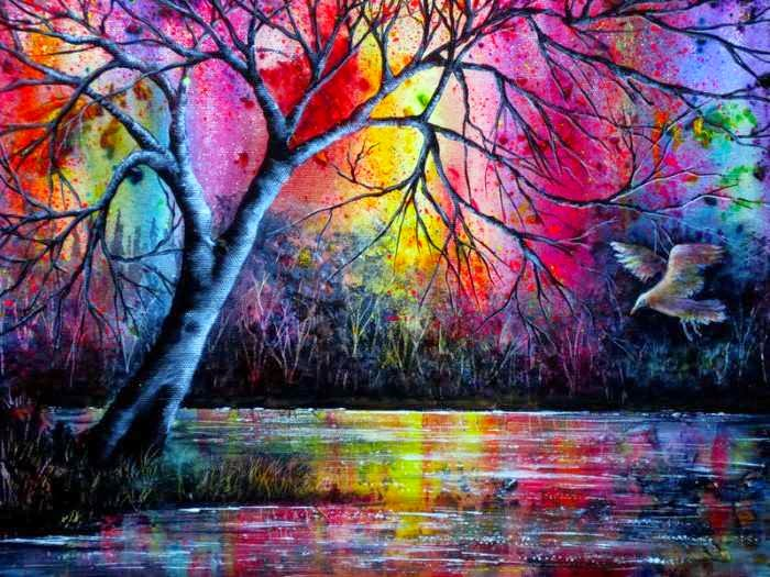 Яркие пейзажи. Ann Marie Bone