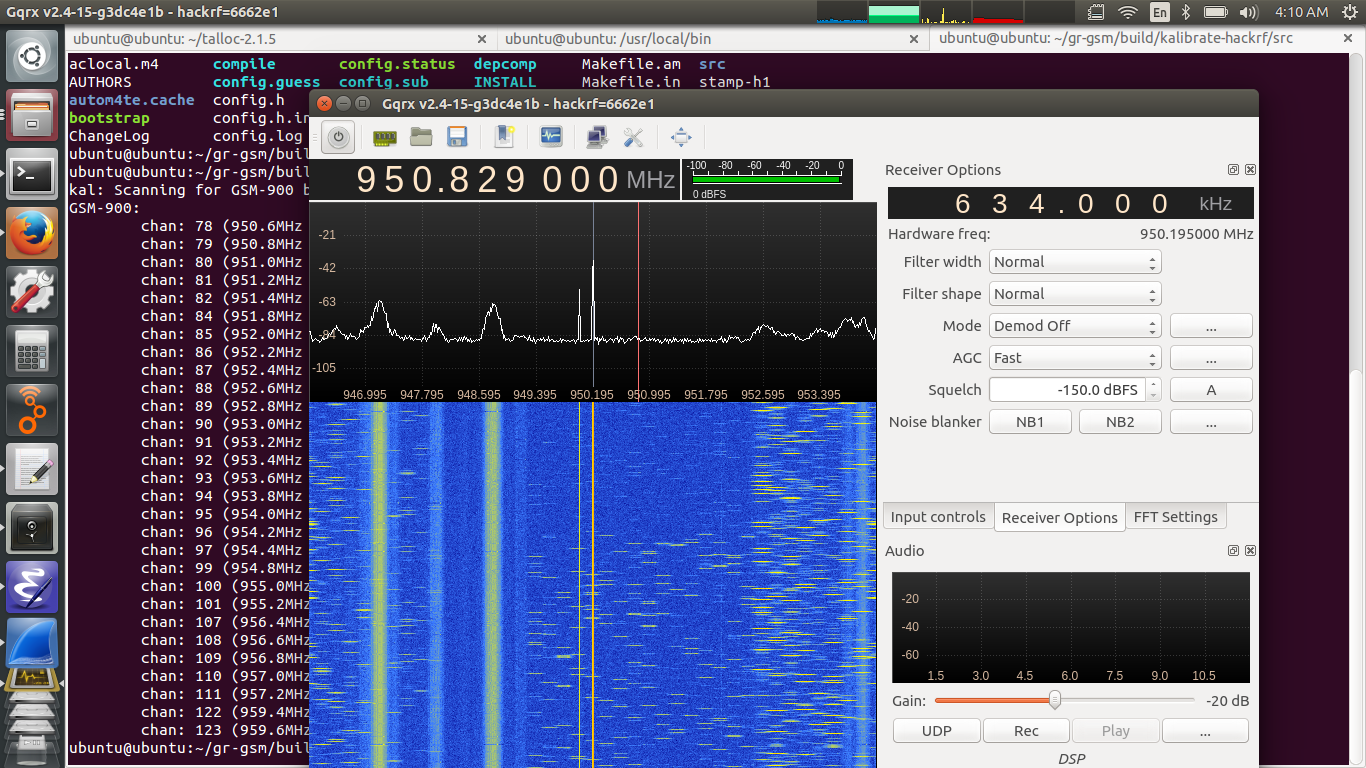 Sniffing GSM traffic with hackRF