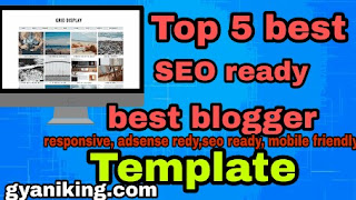 Best blogger template,seo ready, adsense ready, mobile friendly free template