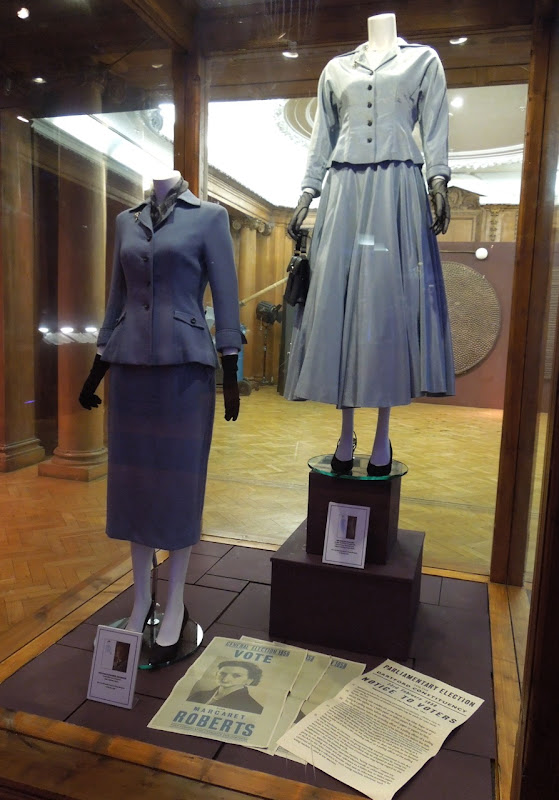 Iron Lady movie costume display
