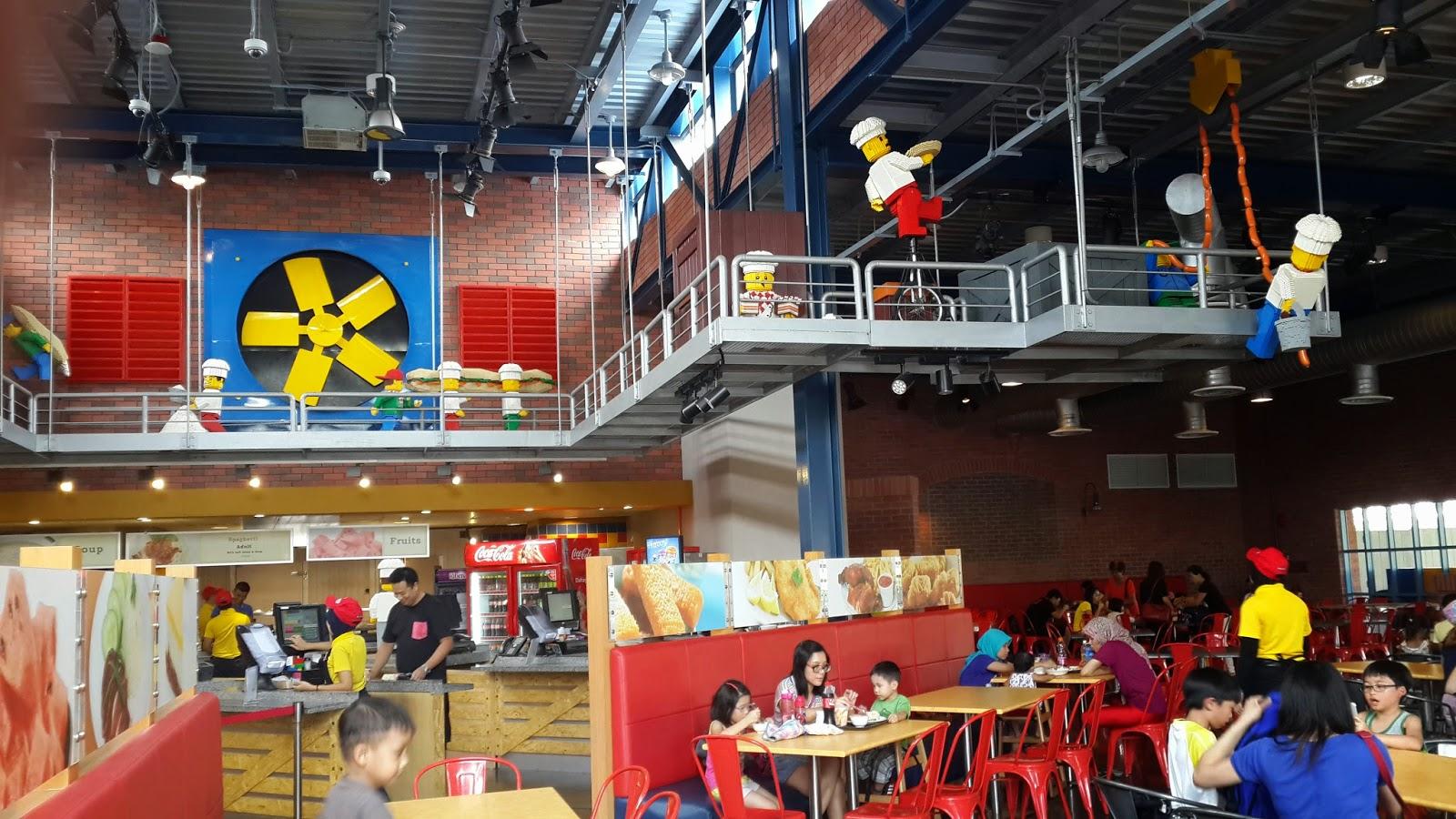 Market Restaurant Legoland Menu