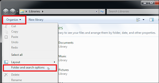 Cara menampilkan file yang di Hidden pada Windows 7