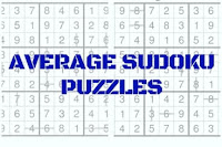 Average Sudoku Variation Puzzles