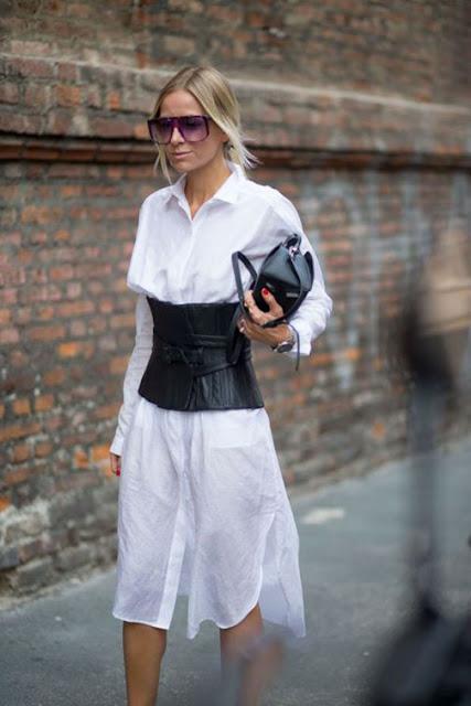 corset street style