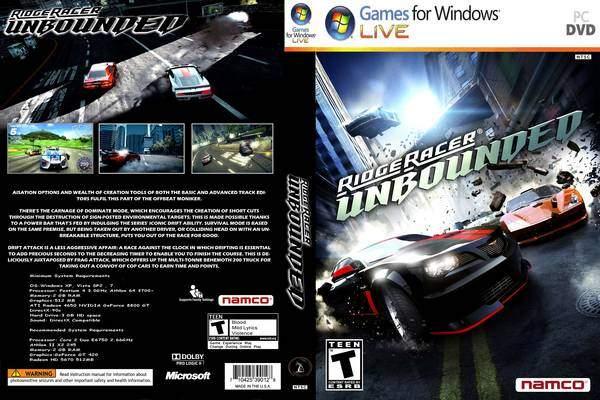 Ridge Racer Unbounded Bundle MULTi6-ElAmigos PC Full Version
