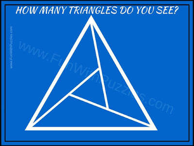 Picture Puzzle to count number of triangles