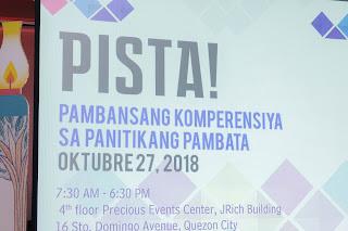 literature event in the philippines pista