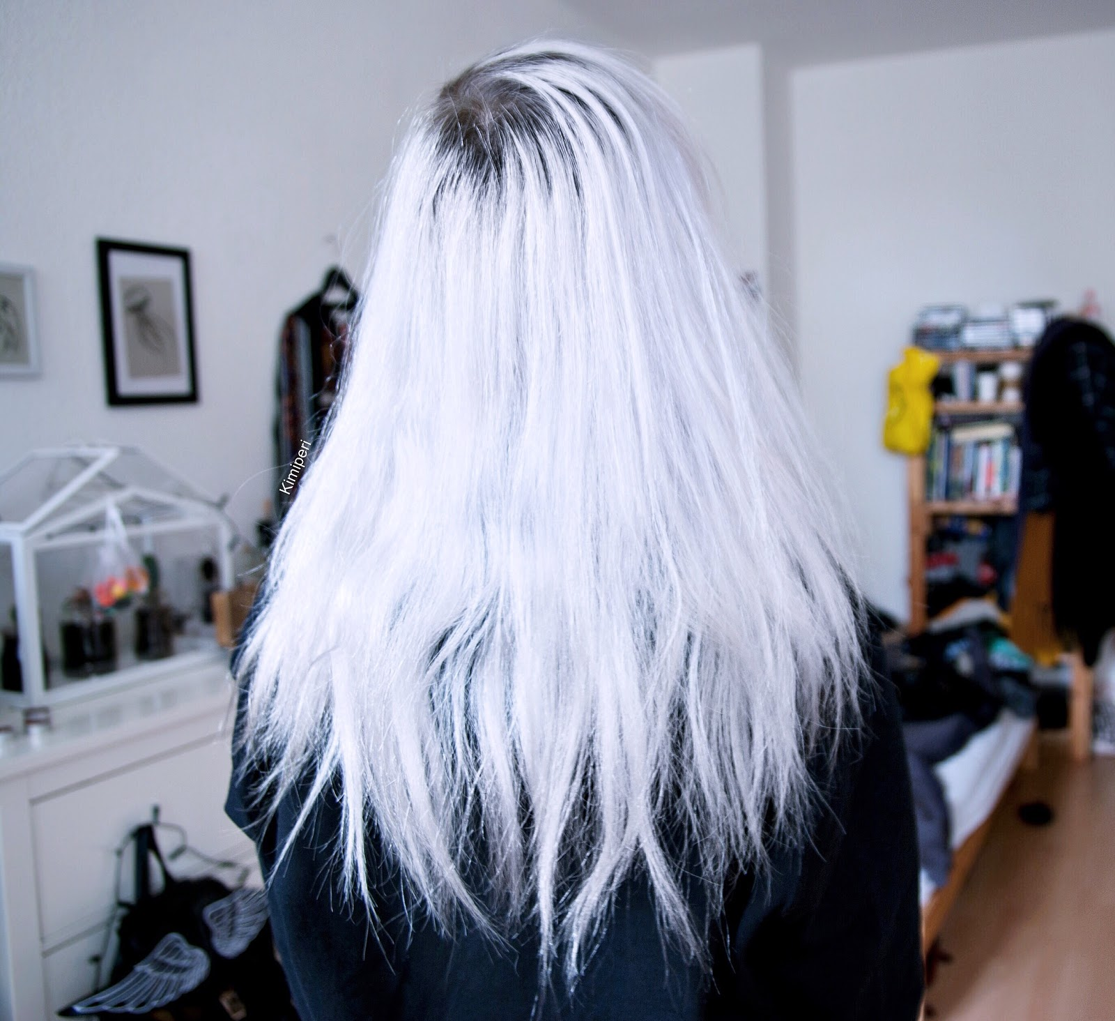 Superb Maria Nila Products Snow White Silver Hair Blackrush Hairstyle Inspiration Daily Dogsangcom