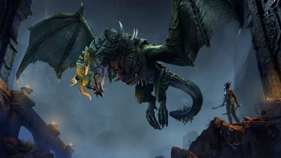 elder scrolls online elsweyr dragons