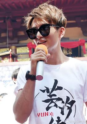 Legend of Yun Xi filming Merxat Mi Re