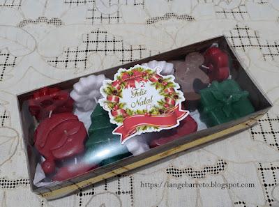 Velas natalinas