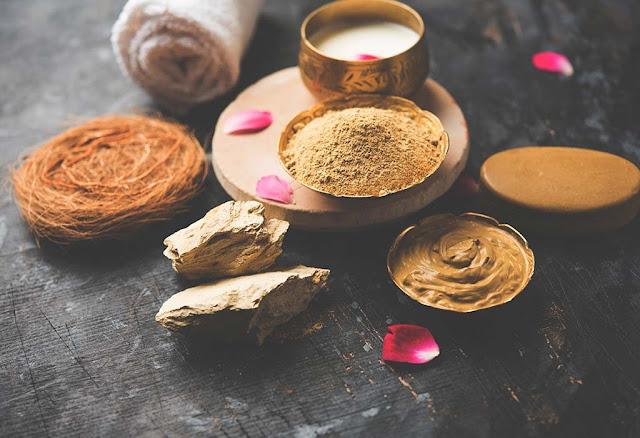Multani mitti face mask