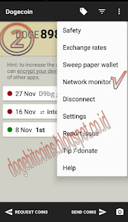 Dompet dogecoin android network
