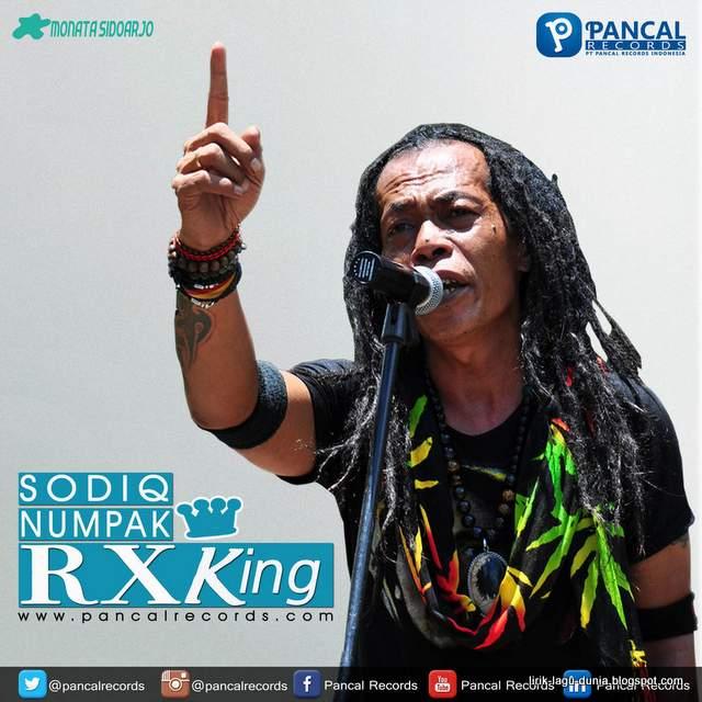 Lirik Lagu Numpak RX King - Sodiq Monata
