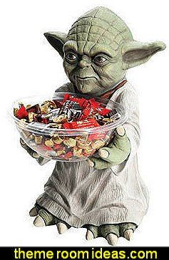 Yoda Candy Bowl Star Wars Party Supplies  Star Wars party decorations  - Star Wars party decor - star wars party decorating - Star Wars party supplies -  Star Wars party props - star wars life size standees - star wars costumes - outer space party decorations - star wars props - galaxy table decorating props