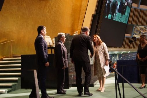 Canciller de Ecuador es elegida presidenta de la Asamblea General de la ONU