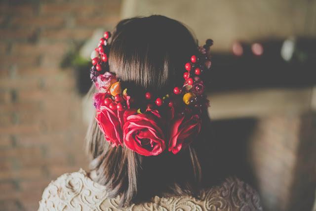 tocado novia inspiracion blancanieves - snow white - blog mi boda