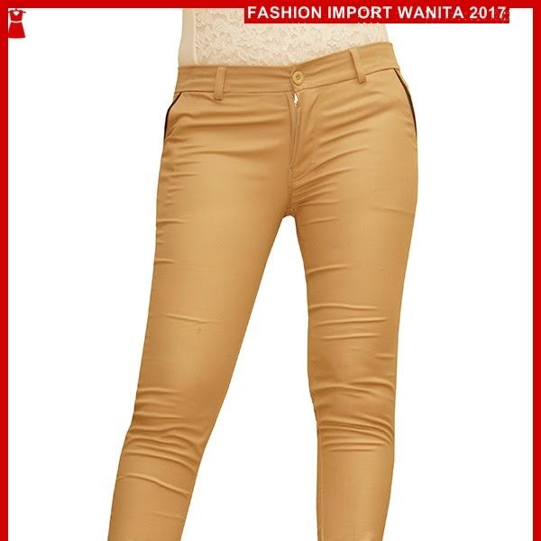 ADR007 Celana Gold Coklat Panjang Chino Import BMG