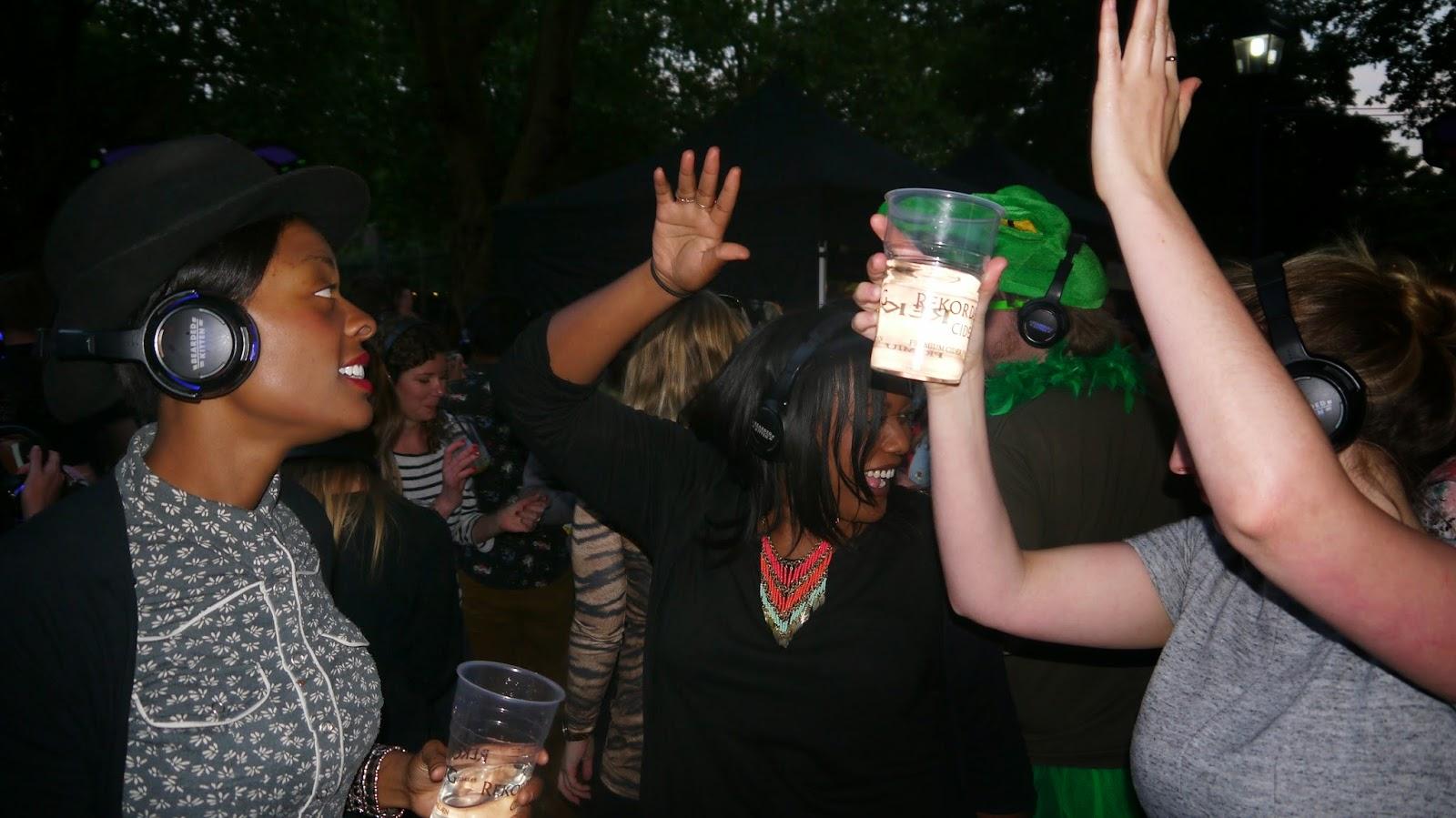 London Zoo lates silent disco