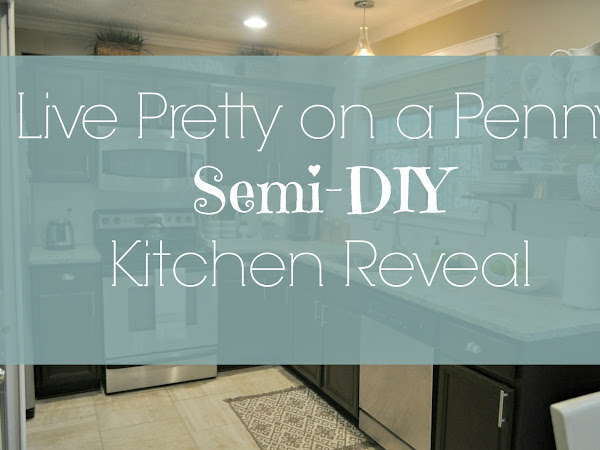 Live Pretty on a Penny Semi- DIY Kitchen Reveal!
