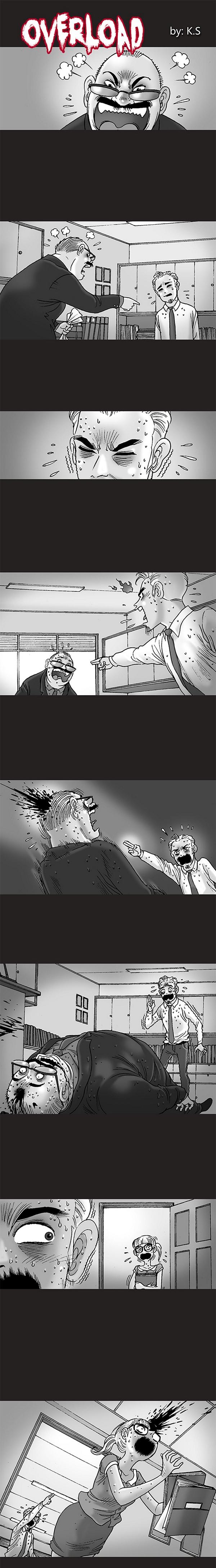 Silent Horror chap 61: Quá sức chịu đựng