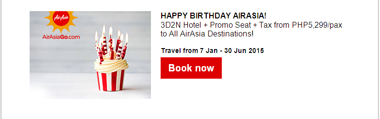 AirAsia: Awesome Christmas deals from PHP88!