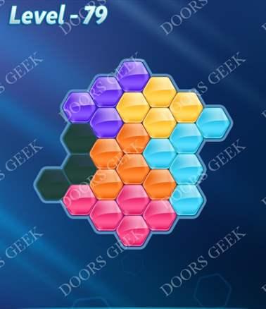 Block! Hexa Puzzle [Intermediate] Level 79 Solution, Cheats, Walkthrough for android, iphone, ipad, ipod