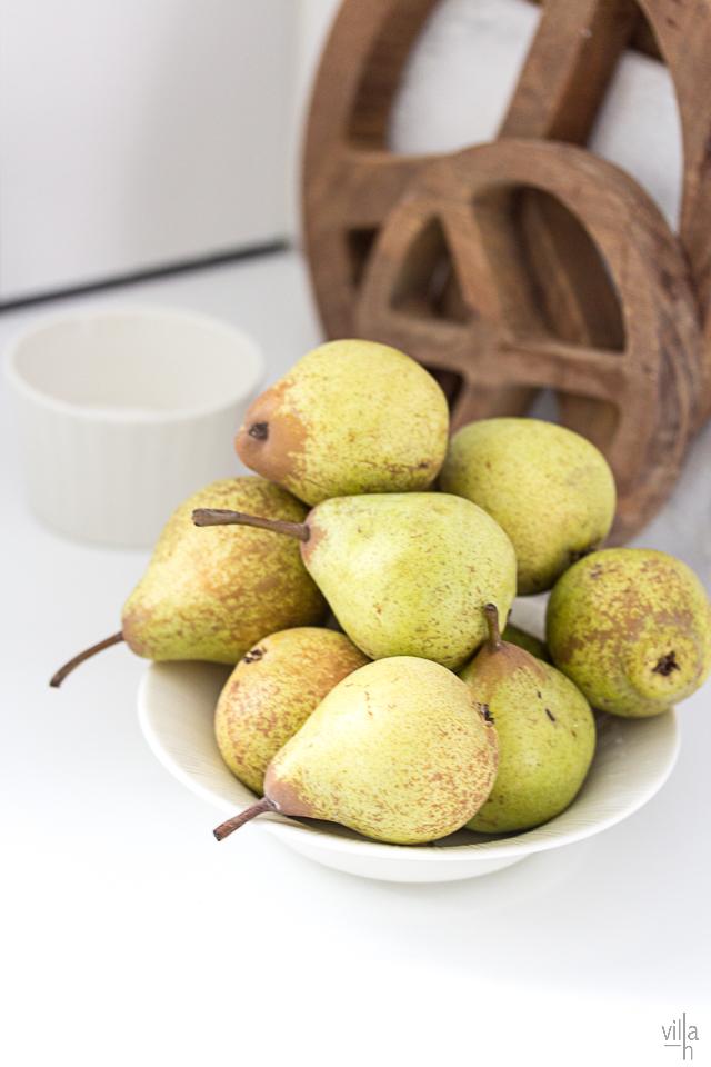päärynät, keittiö