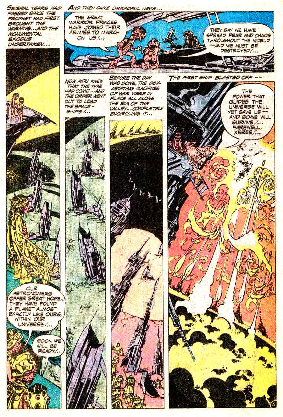 Weird War Tales v1 #31 dc bronze age comic book page art by Alex Nino