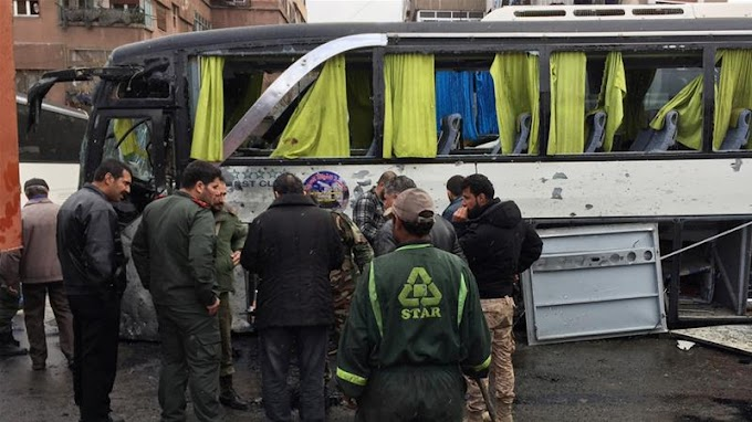 Twin bombing kills at least 40 in Damascus' Old City