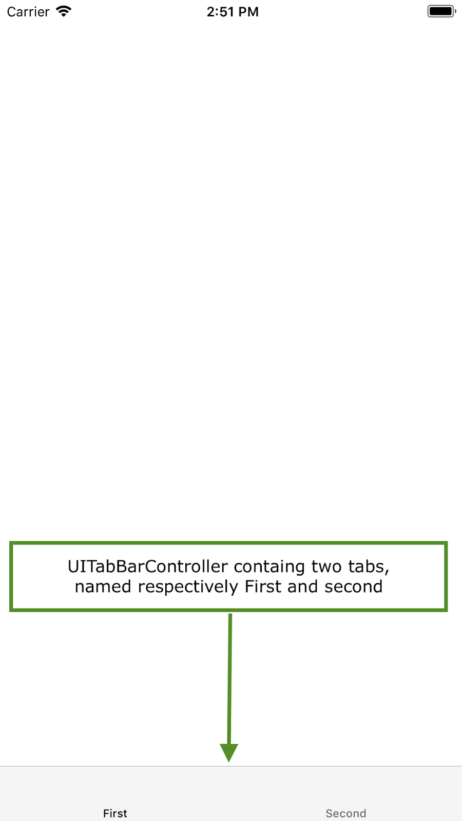 Create UITabBarController Programmatically in swift (swift 4 + xcode