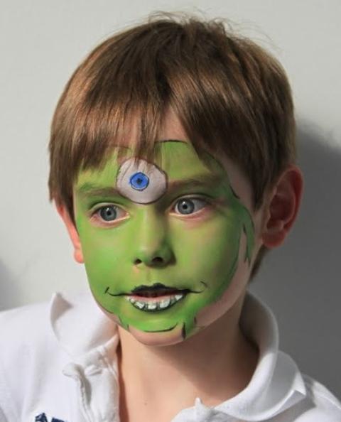 Kids Halloween Face Paint