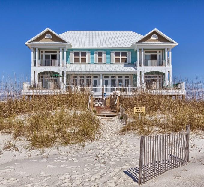 Gulf Coast Beach Houses: House Of Turquoise: The Veranda