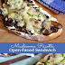 Mushroom Ricotta Open-Faced Sandwich Recipe