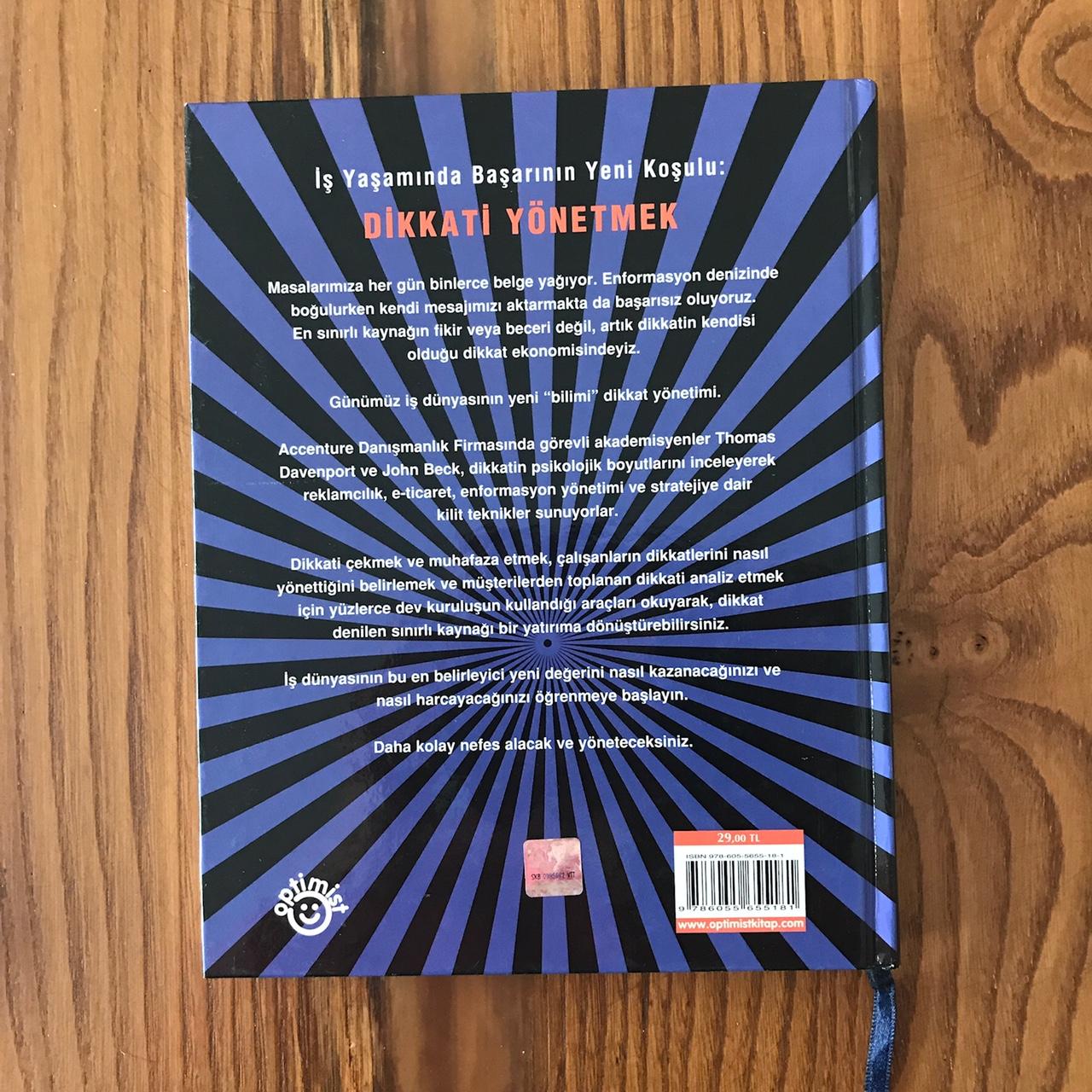 Dikkat Ekonomisi - Is Dunyasinin Yeni Degerini Anlamak (Kitap) Arka Kapak